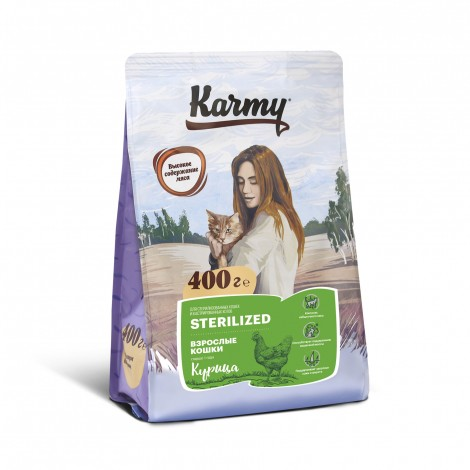 Karmy Sterilized Курица 400г