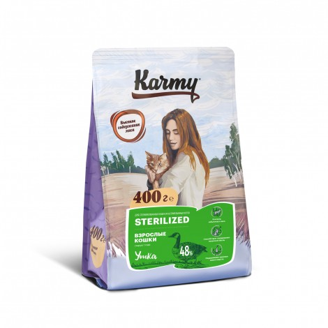 Karmy Sterilized Утка 400г